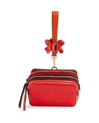 The Stack Wristlet Circulus Bag, Red