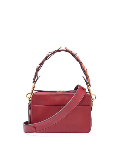 The Stack Shoulder Circulus Bag, Red