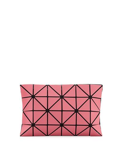 Lucent Frost Lightweight Clutch Bag, Pink
