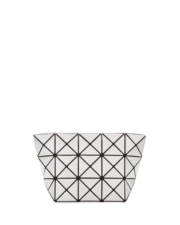 Prism Lightweight Clutch Bag, White