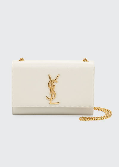 Kate Monogram YSL Small Grain Leather Crossbody Bag