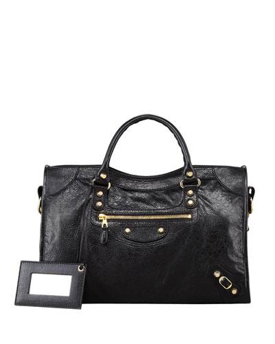 Giant 12 Golden City Bag, Black