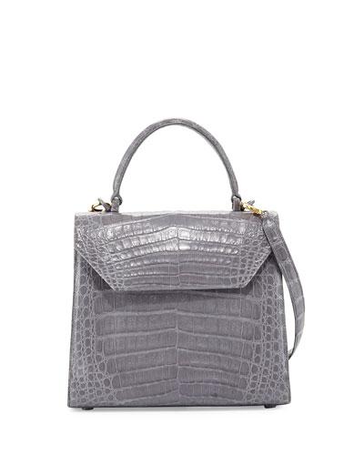Medium Crocodile Lady Bag