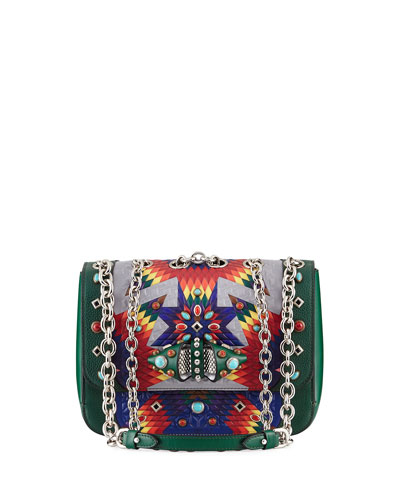 Sweet Charity Loubiquilted Shoulder Bag, Multi
