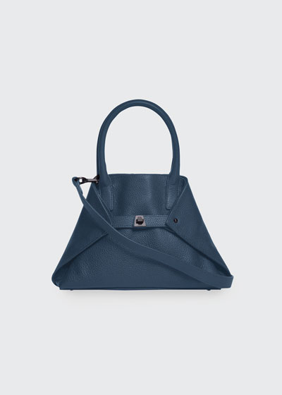 Ai Little Cervo Calf Leather Top-Handle Bag