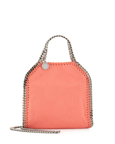 Falabella Tiny Tote, Peony Pink