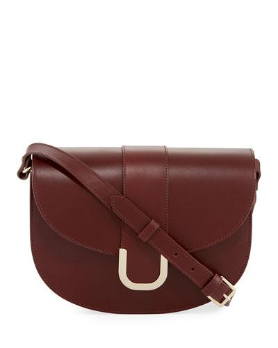 Soho Leather Saddle Bag