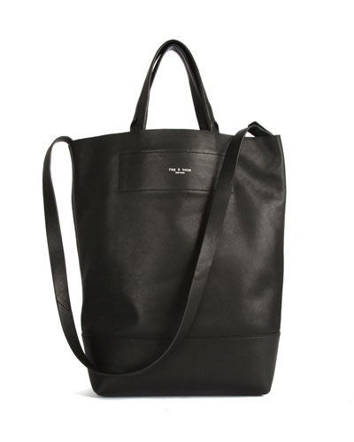 Walker Convertible Leather Tote Bag