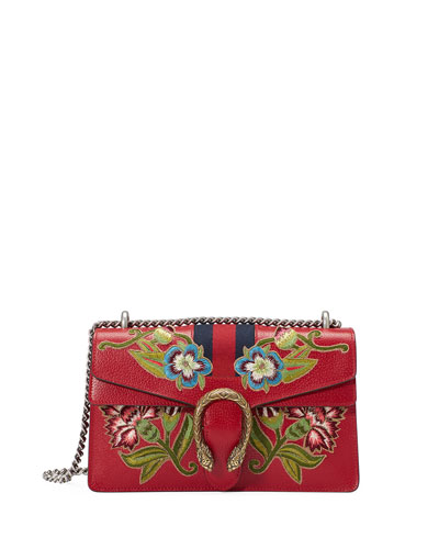 Small Dionysus Shoulder Bag, Red