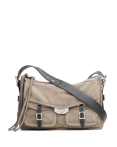 Field Suede Messenger Bag
