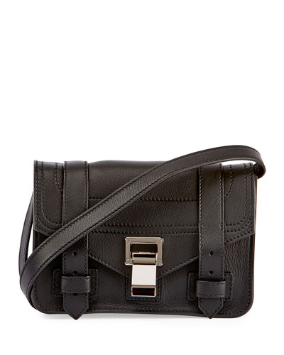 Black Mini Shoulder Bag  d59a0325155a4