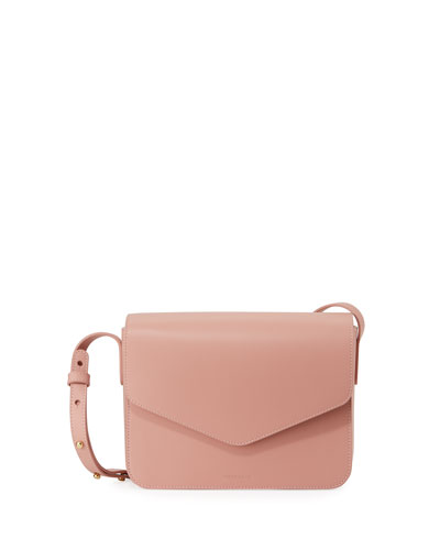 Calf Leather Envelope Crossbody Bag
