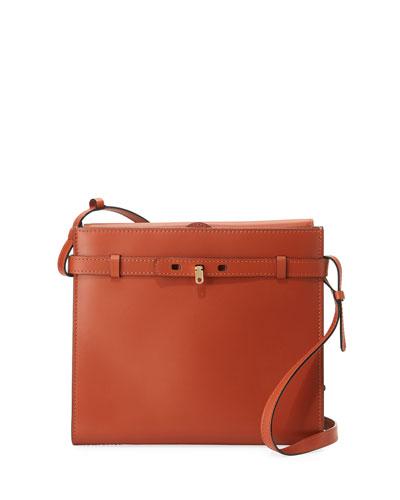 Tracollina Leather Shoulder Bag