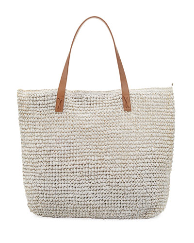 Carried Away Beach Tote Bag, White