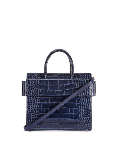 Horizon Mini Alligator Tote Bag