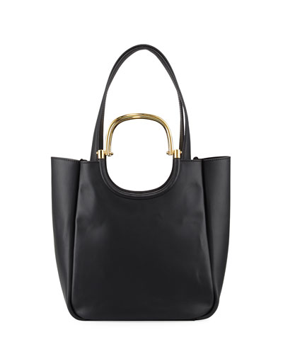 Hudson Mini Tote Bag, Black
