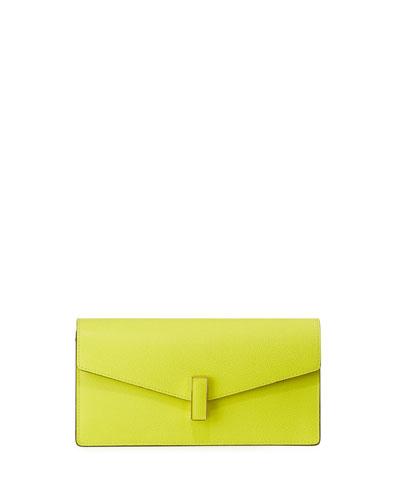 Pochette Iside Clutch Bag, Light Green