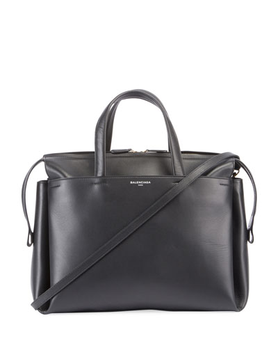 Portfolio Sac Leather Top Handle Bag