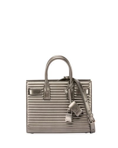 Sac de Jour Nano Opium Tote Bag with Silvertone Hardware