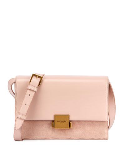 Bellechasse Medium Leather/Suede Satchel Bag