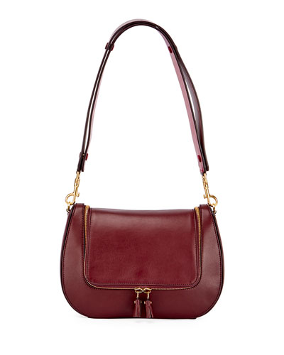 Vere Satchel Bag, Purple