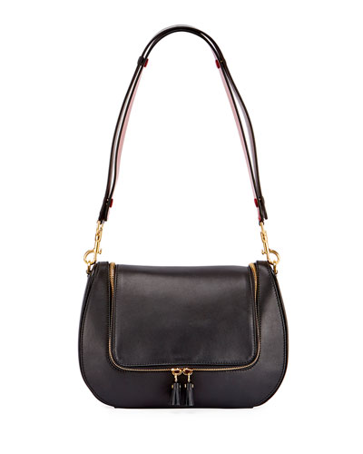 Vere Satchel Bag, Black