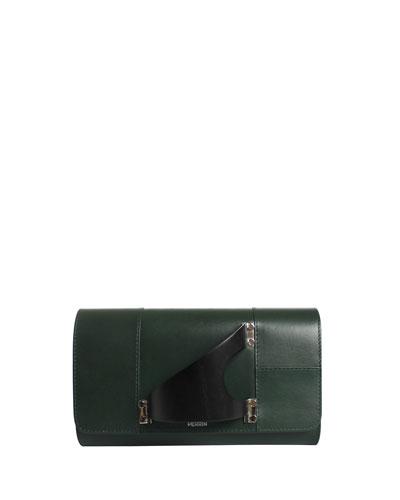 Leiffel Leather Clutch Bag