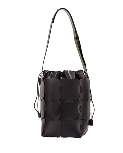 16#01 Medium Vegetable-Dyed Leather Hobo Bag