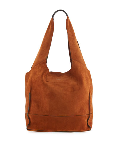 Walker Suede Shopper Tote Bag