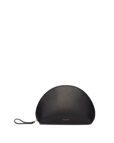 Moon Leather Clutch Bag