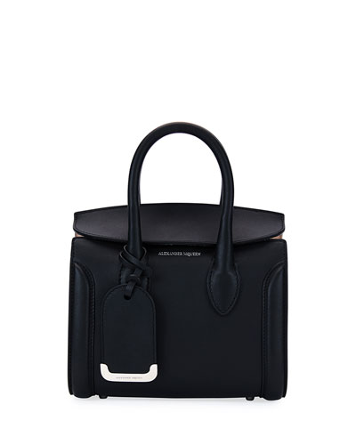 Heroine 21 Mini Satchel Bag, Black