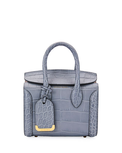 Heroine 21 Mini Satchel Bag, Gray