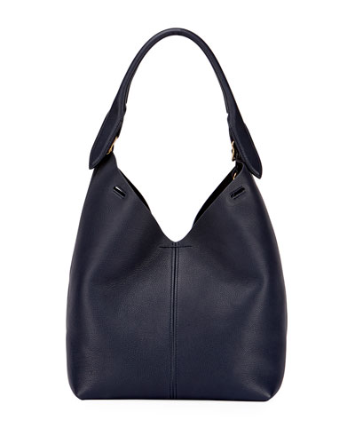 The Bucket Small Circle Bag, Blue