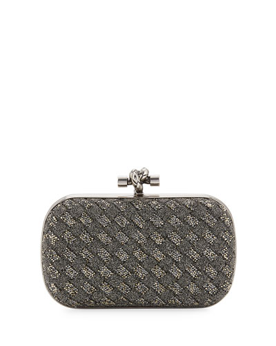 Crystal Knot Framed Clutch Bag