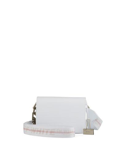 New Flap Mini Bag, White