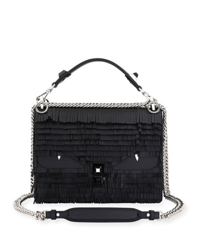 Kan I Fringe Monster Shoulder Bag