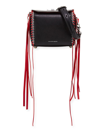 Box 19 Fringed Leather Shoulder Bag