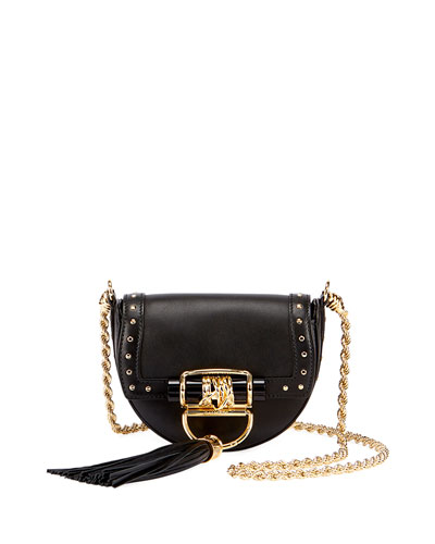 Leather Tassel Chain Shoulder Bag
