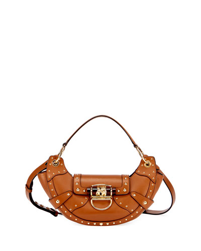 Le Croissant Glove Patch Shoulder Bag