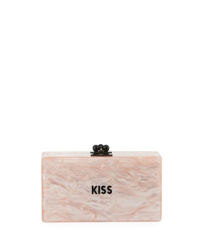 Jean Mini Kiss Clutch Bag