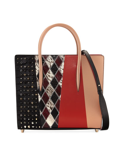 Paloma Medium Patchwork Tote Bag