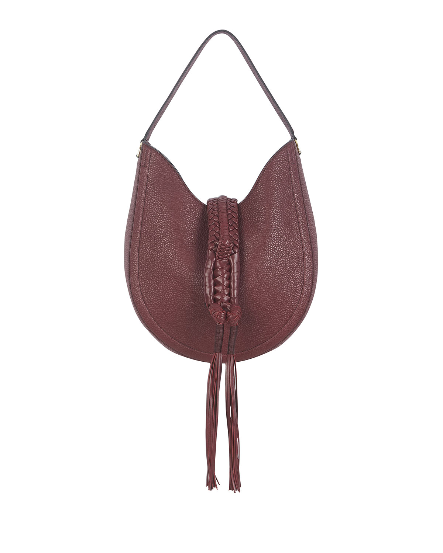 Altuzarra Bags GHIANDA SMALL LEATHER HOBO BAG