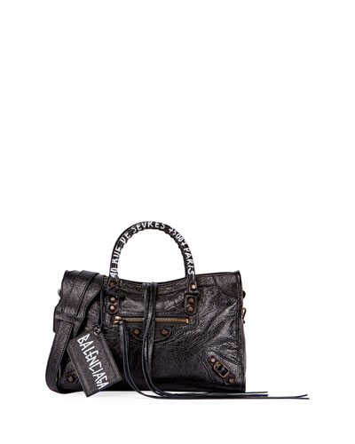 Classic City AJ Small Graffiti Address Satchel Bag