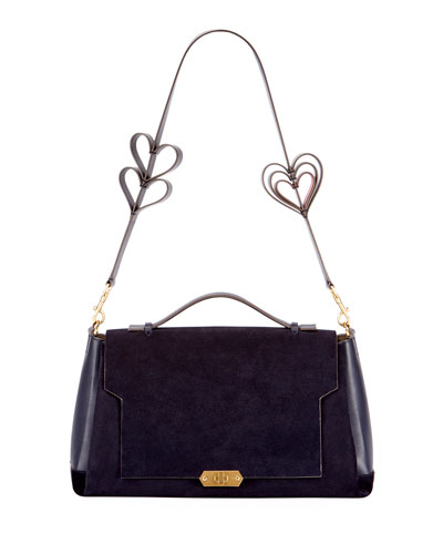 Soft Bathurst Heart Satchel Bag