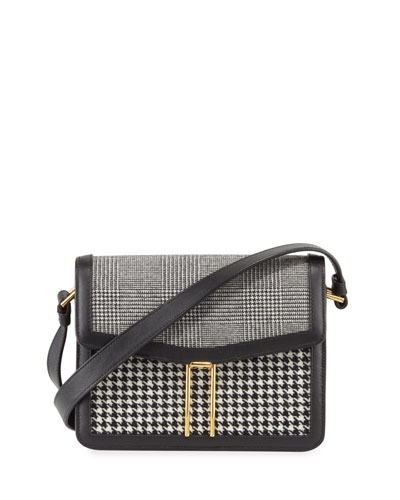 Mini H Plaid Crossbody Bag
