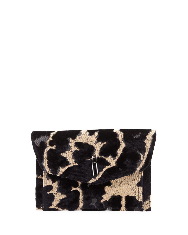 Bobby Velvet Brocade Clutch Bag