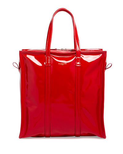 Bazar Extra-Small Patent Tote Bag