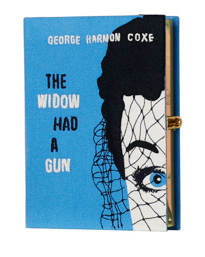 The Widow Had a Gun Book Clutch Bag