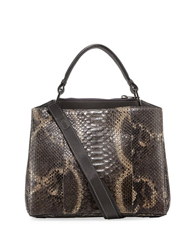 Seven 34 Python Top-Handle Bag