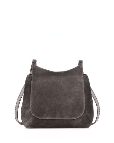 Sideby Suede Messenger Bag